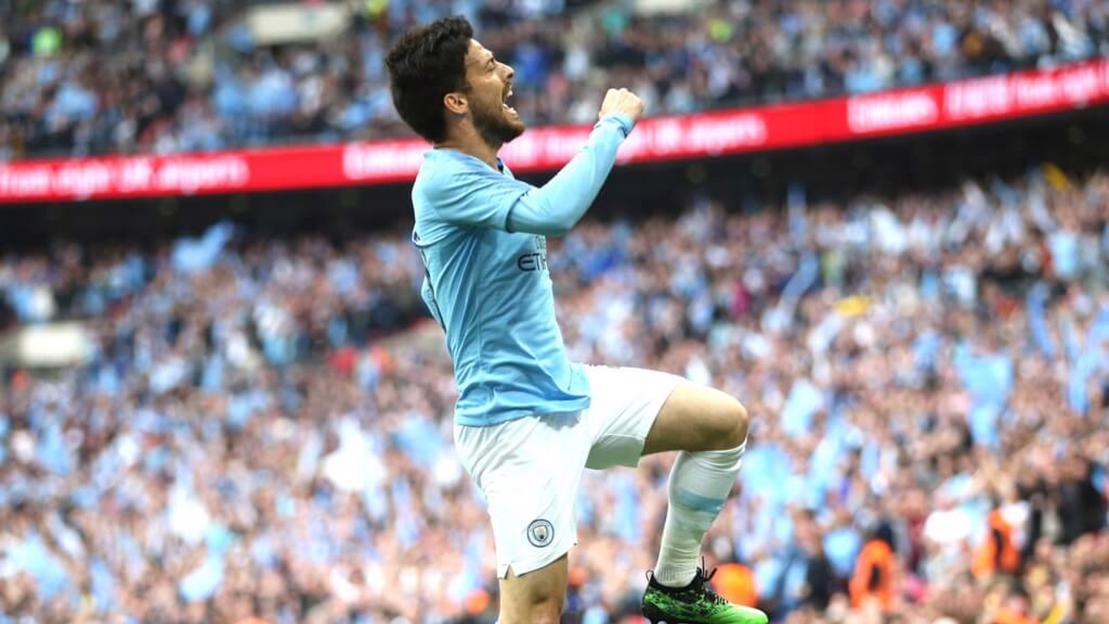 SILVA SPRINGS: A flying celebration from the Spaniard