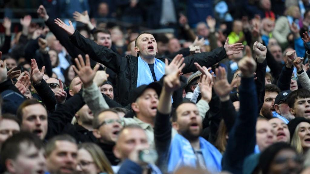 El Manchester City jugará en Wembley por quinta vez esta temporada.