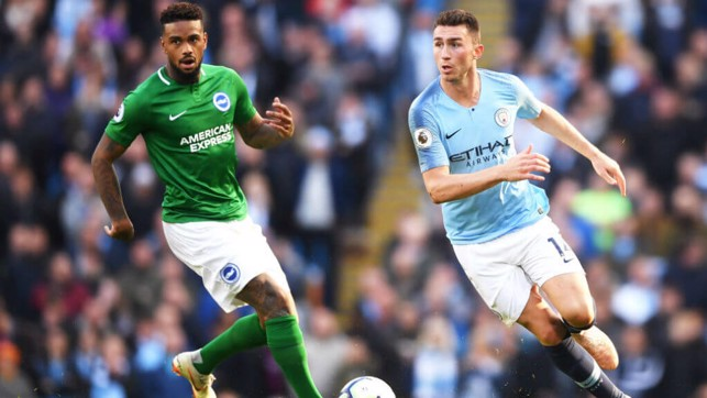 CUT ABOVE: Aymeric Laporte continues to impress