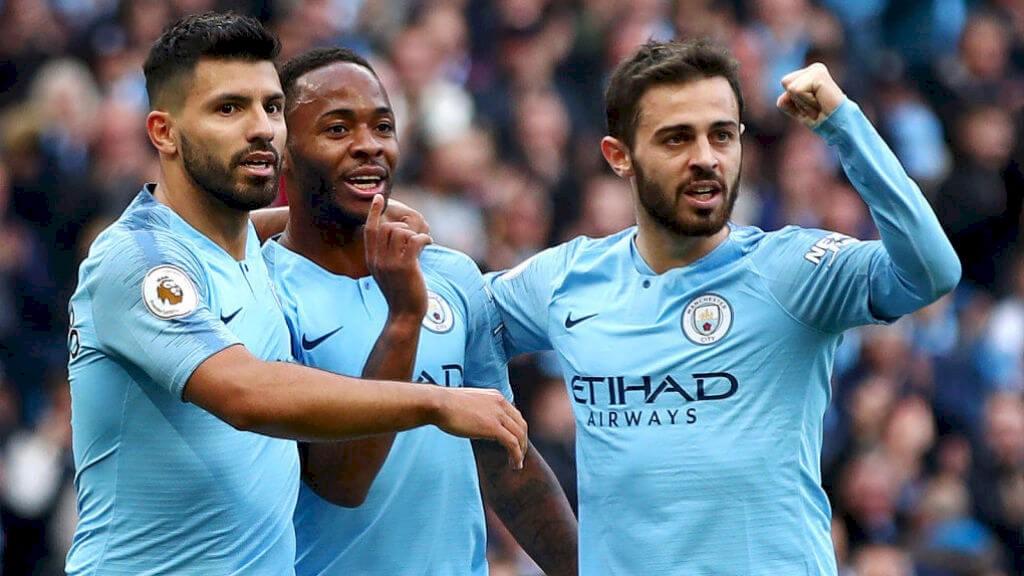 GOAL: City go ahead versus Brighton