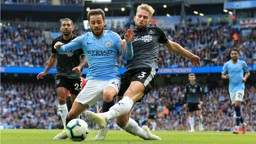 ACTION MAN: Bernardo Silva is denied by Burnley's Charlie Taylor