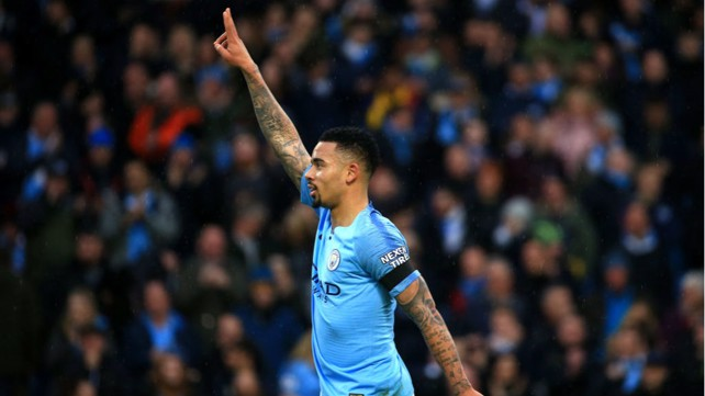 ONE-UP FOR THE CUP: Gabriel Jesus broke deadlock!