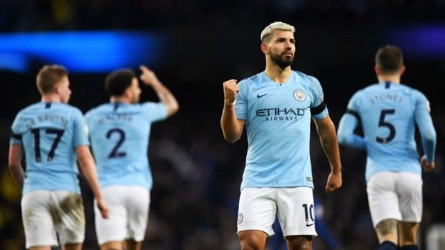 MAN ON FIRE: There's just no stopping City's number 10.