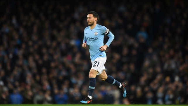 PUPPET MASTER: David Silva pulling the strings in midfield.