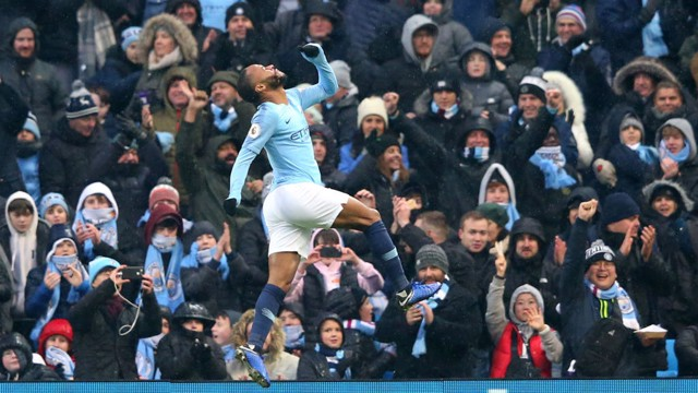 SUPER SUB: Raheem Sterling makes it three!