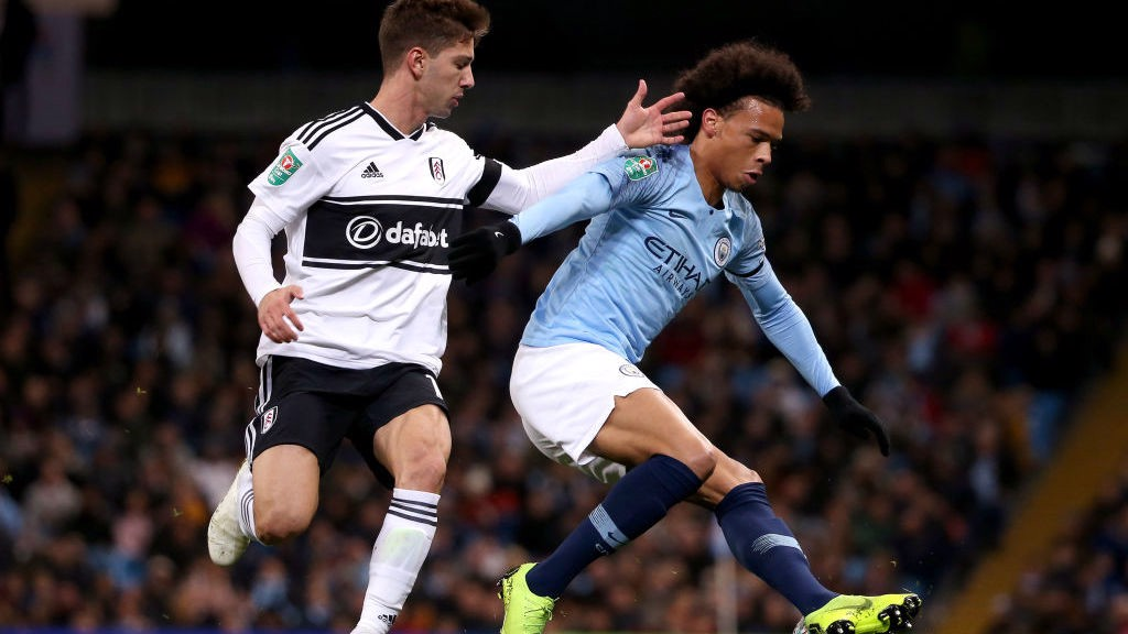 TRICKS AND TREATS: Leroy Sane in action