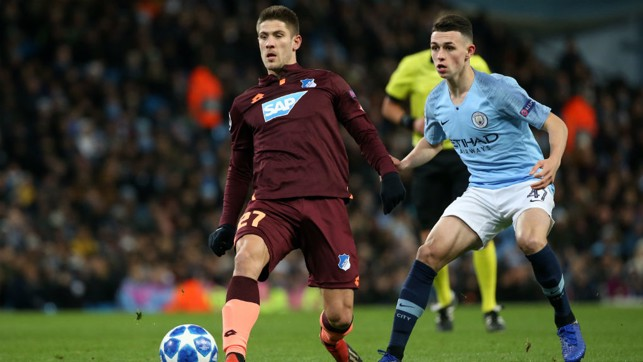 PHIL YOUR BOOTS: Fresh from penning his new deal, Phil Foden earned a starting berth