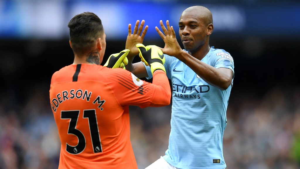EDERSON: Claimed an assist in the first meeting between the teams...