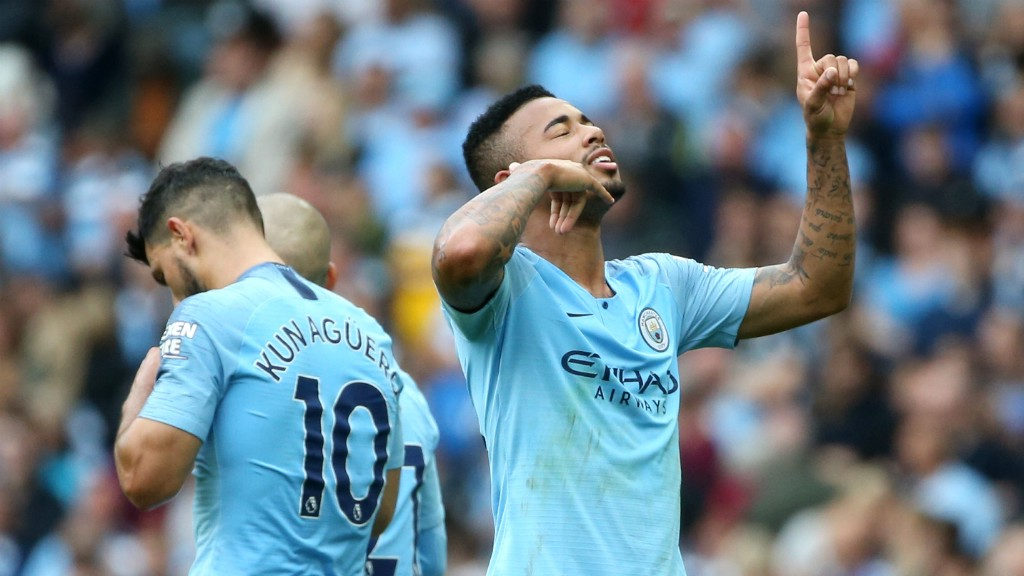 7d74cbff7 Gabriel Jesus on Sergio Aguero - Manchester City FC
