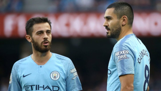 SUPER SUBS: Bernardo and Gundogan.
