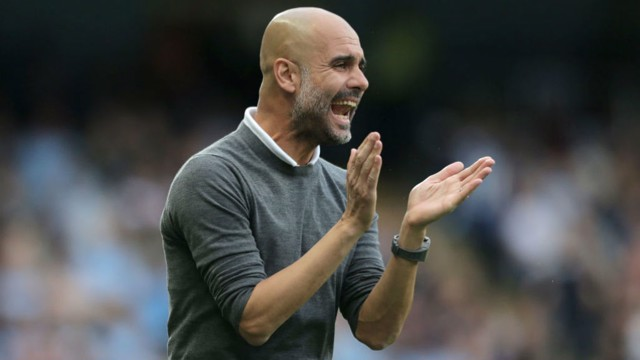PEP: The manager is pleased with City's start to the season