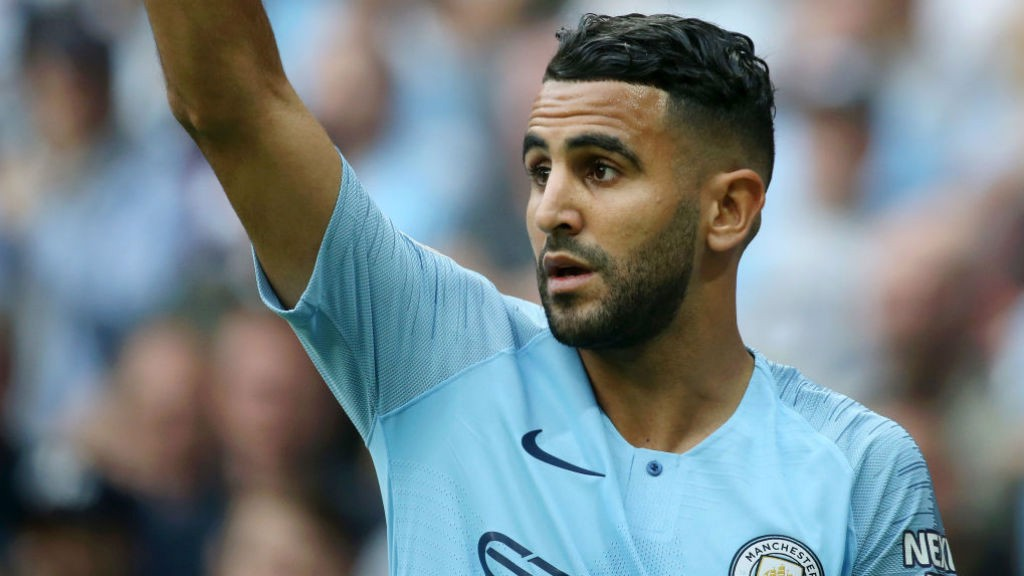MAHREZ: Settling in to life at City.