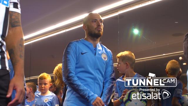 Tunnel Cam: Man City v Newcastle