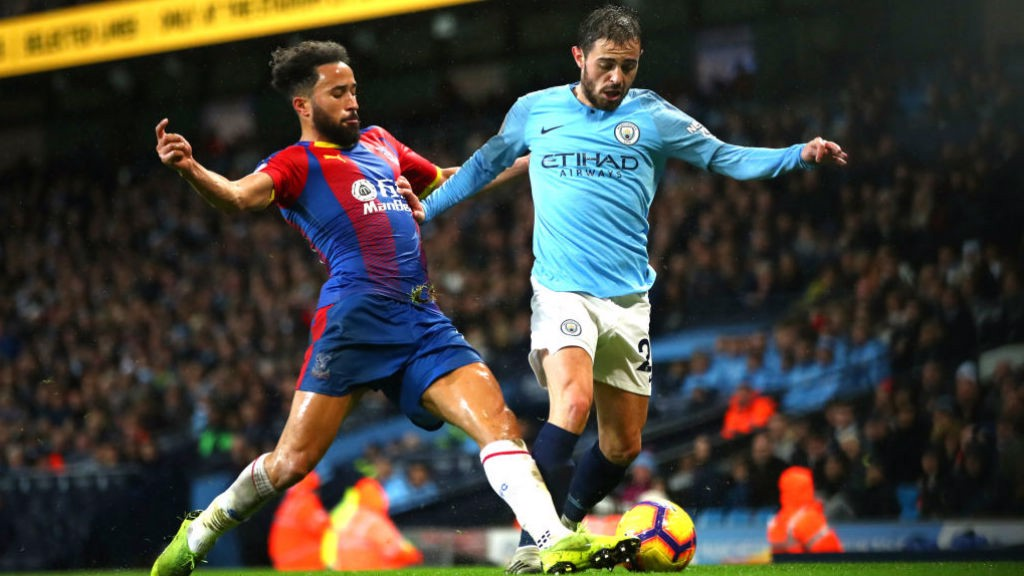 SILVA: Bernardo tries to get City back into the game