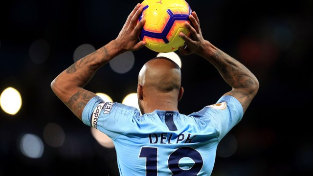 SKIPPER: Today's captain Fabian Delph