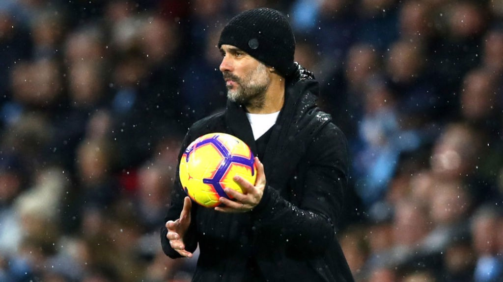 MY BALL: The boss tries to find solutions from the sideline