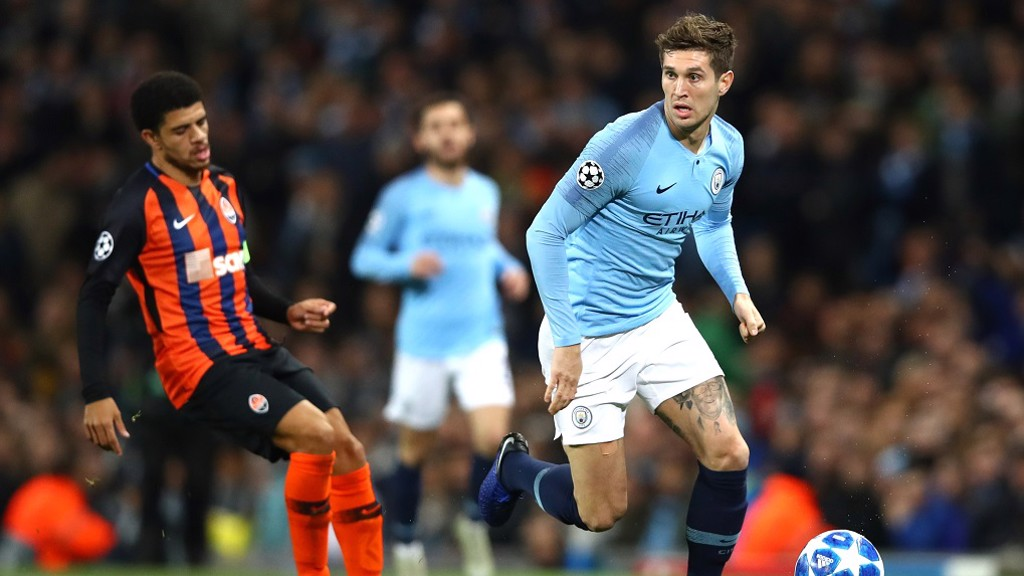 ROLLING STONES: City and England defender John Stones