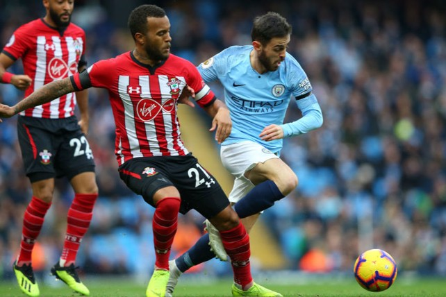 STAR ON SUNDAY: Bernardo Silva looks to set up another City attack