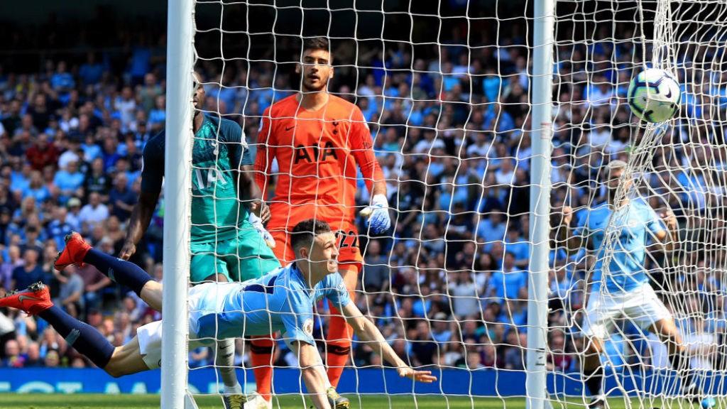 FODEN: Watch Phil Foden's first Premier League goal in TrueView format