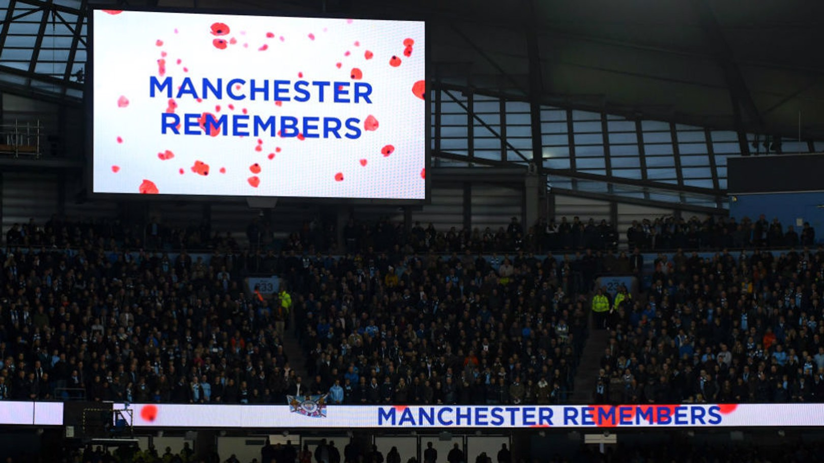 MANCHESTER REMEMBERS: The words say it all