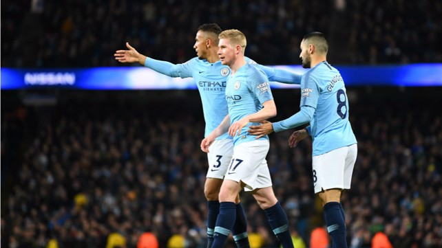 OFF THE BENCH, OFF THE MARK: De Bruyne makes it three...