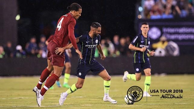 MINE: Mahrez holds off Van Dijk