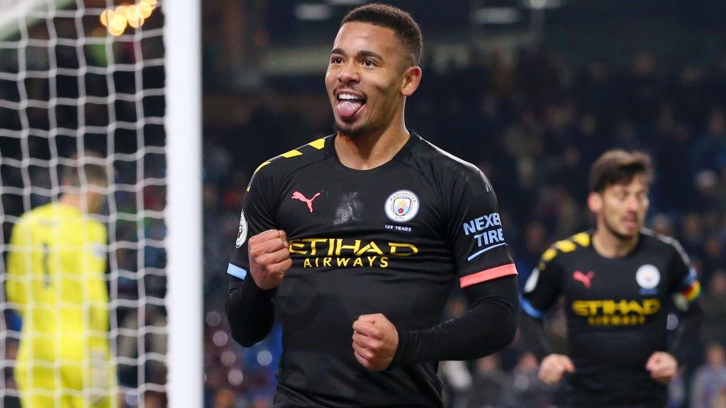 FAB GAB: Two goals for Gabriel Jesus against Burnley