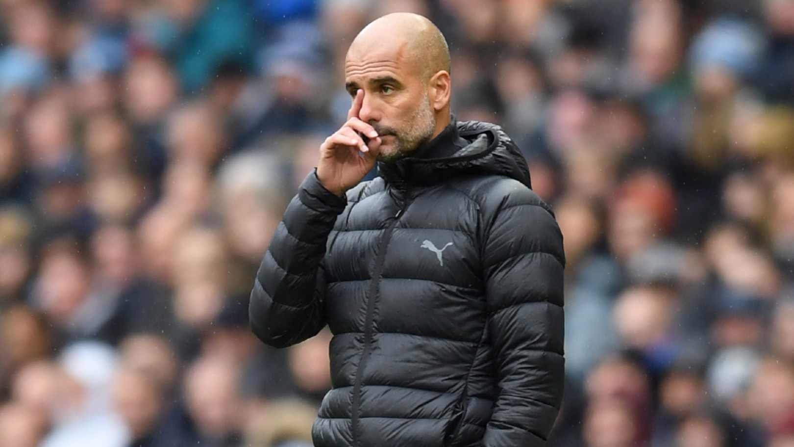 OBSERVATION: Pep Guardiola analyses the first half