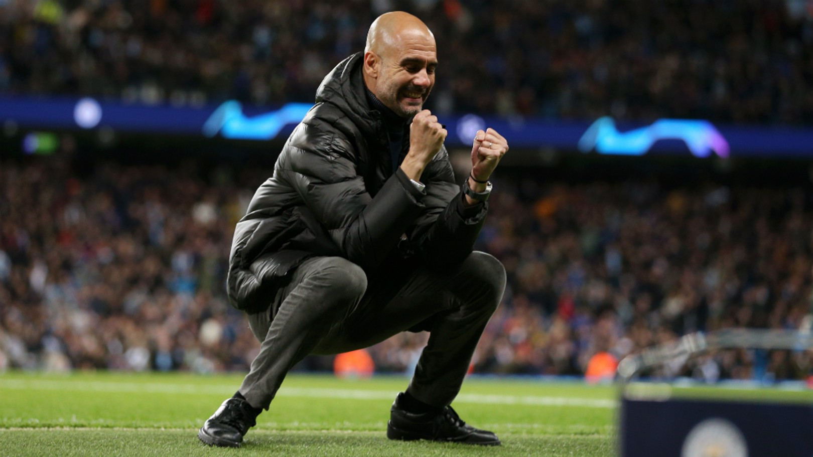 GENIUS MOVES: Pep Guardiola's tactical changes were vital for City to claim all three points