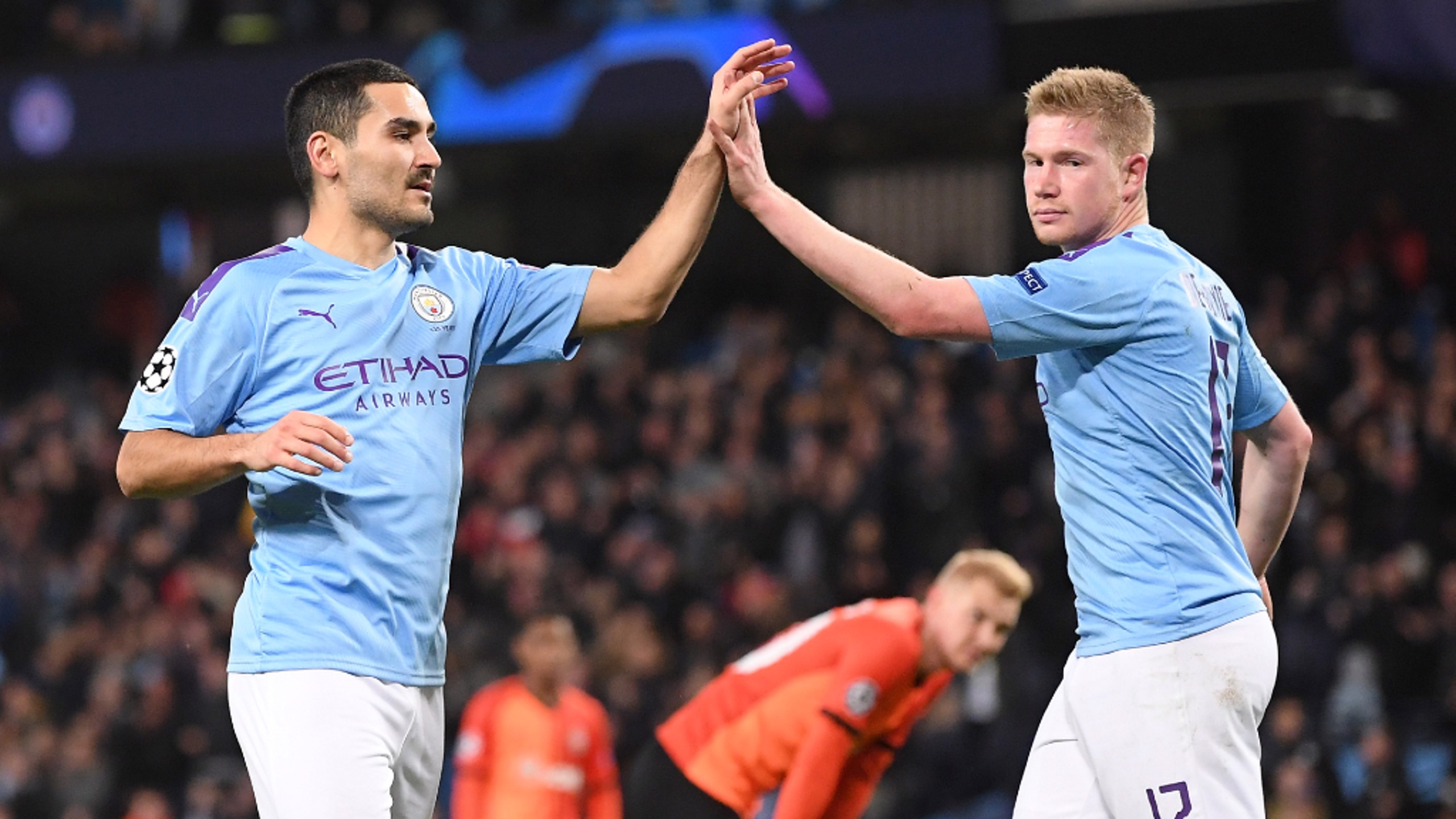 TEAMWORK MAKES THE DREAM WORK: Kevin De Bruyne the architect; Ilkay Gundogan the scorer
