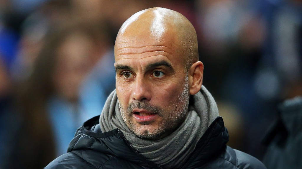 CALM BEFORE THE STORM: Pep