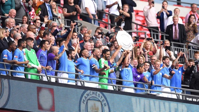 SILVERWARE: City have won each of the last five domestic trophies on offer.