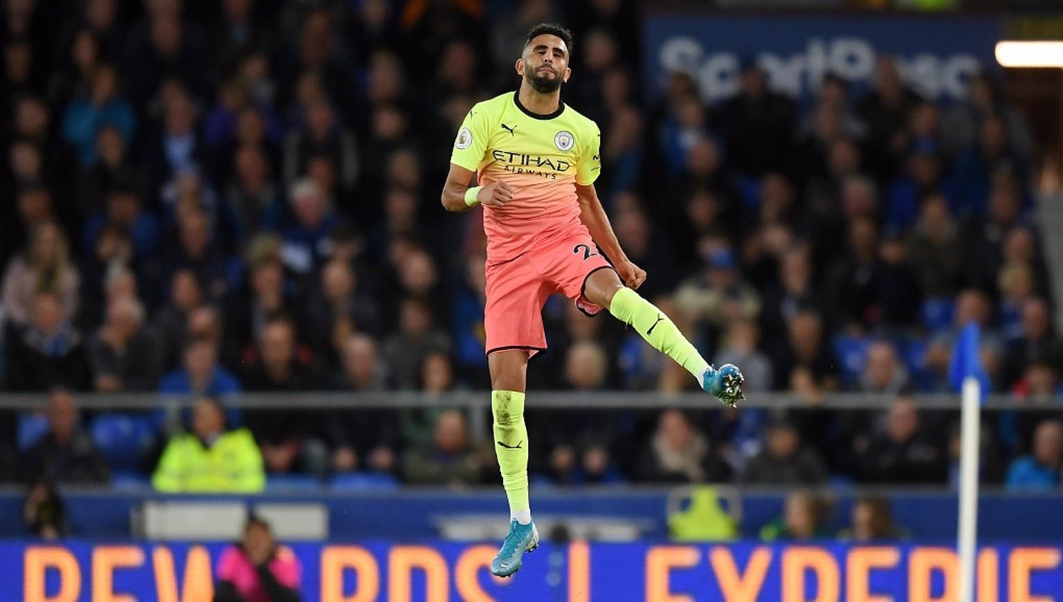 GOAL! Star man Riyad Mahrez puts the Blues ahead