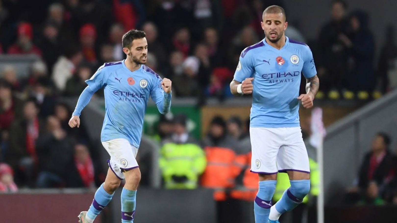 Bernardo fez o gol de honra do City