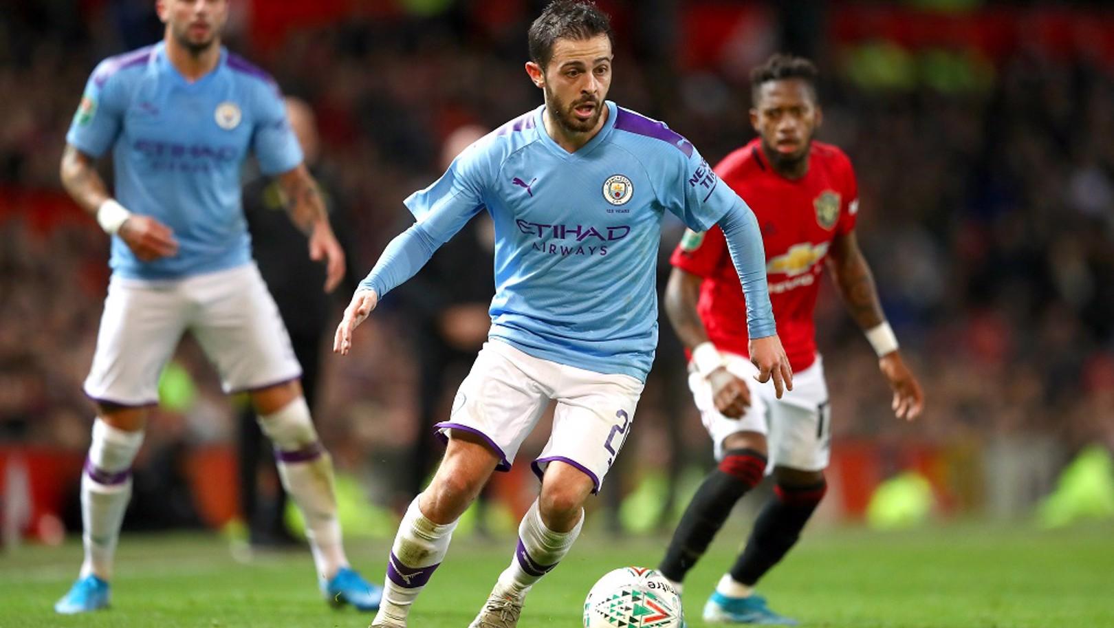 Bernardo Silva fue el mejor del partido.