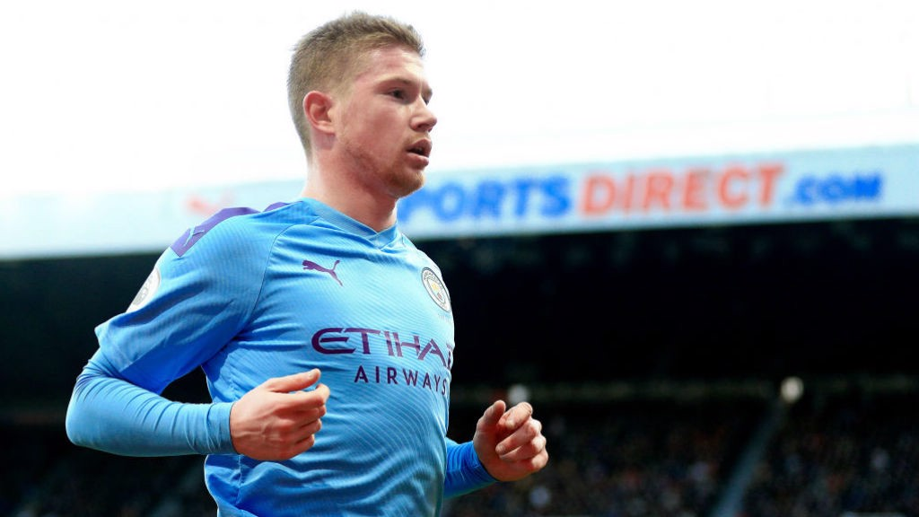KDB: Pivotal for City against Palace