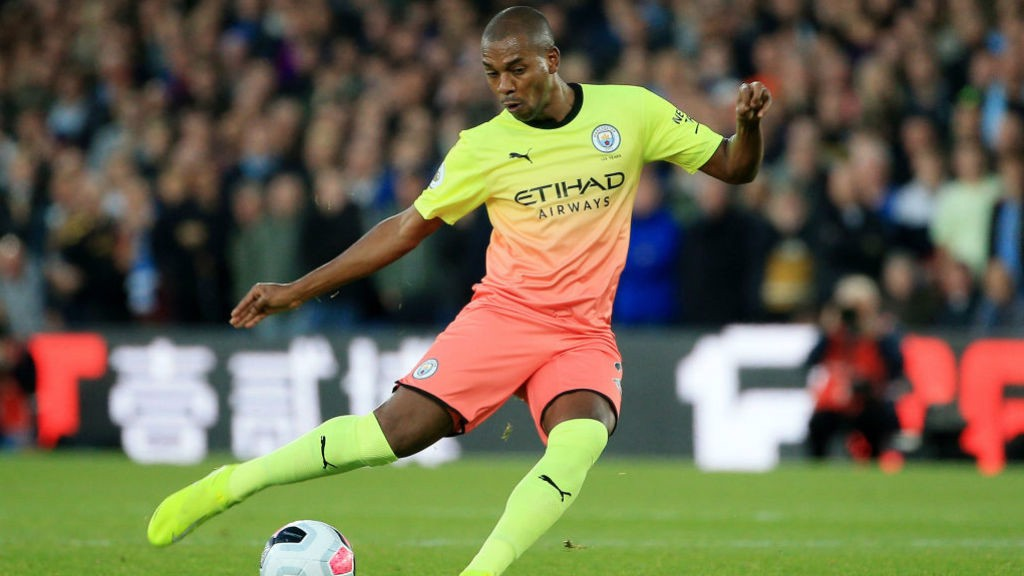 """DINHO: The make-shift centre-back praised City's """"focus"""" in the victory over Palace."""
