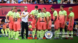 PEP TALK: The manager gives his say