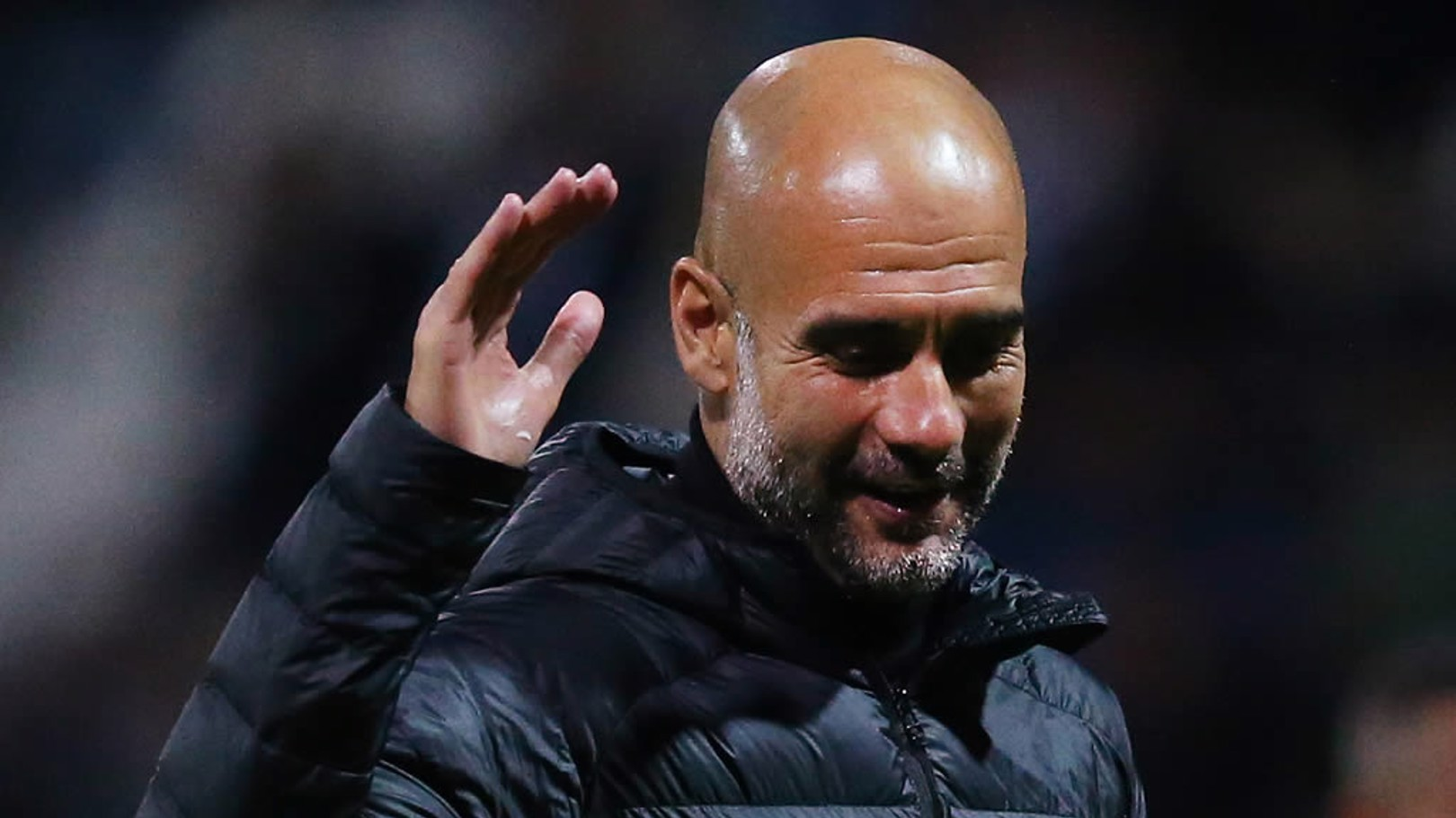 Pep thrilled by teenagers' performance