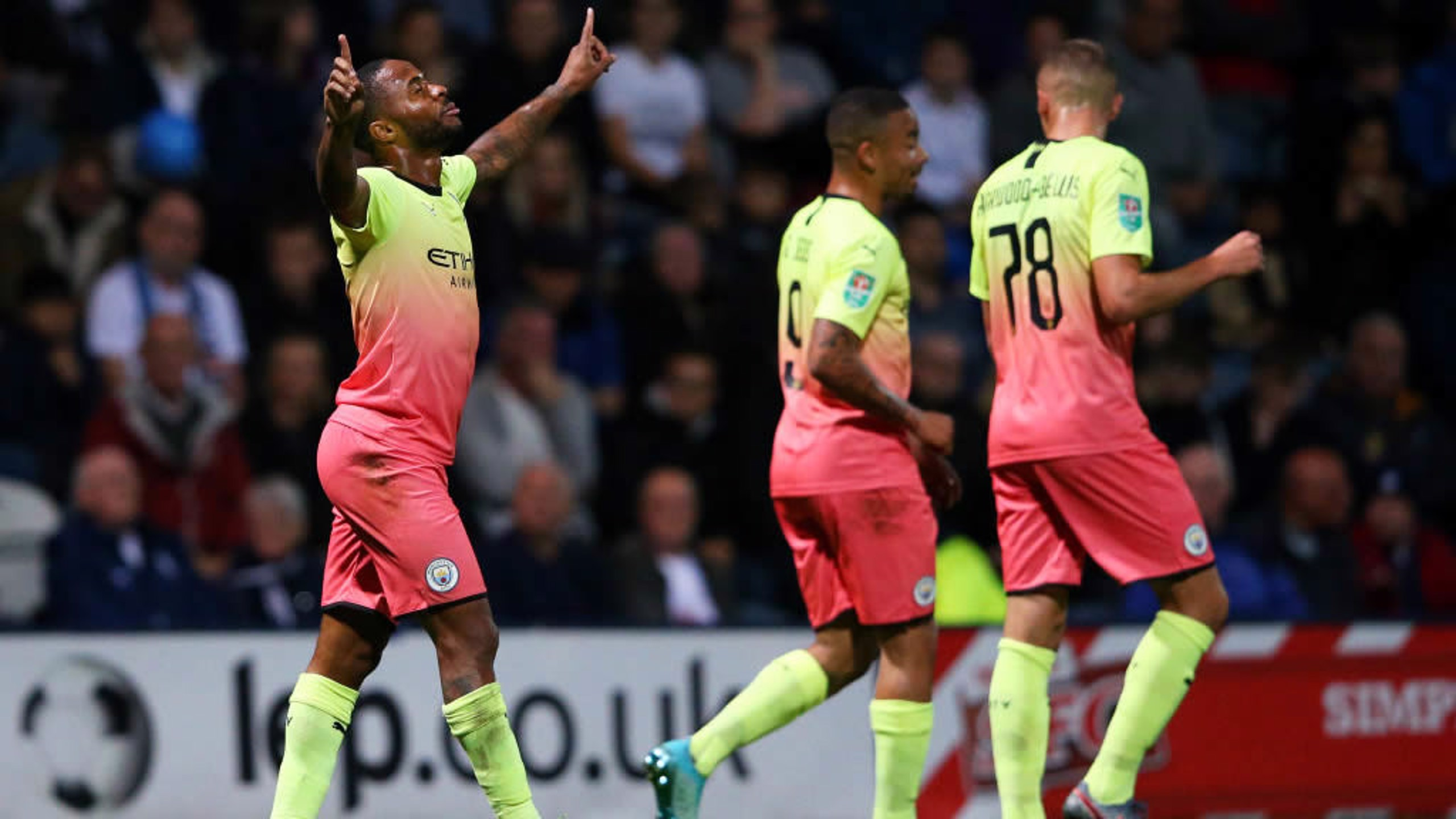 Gallery: City turn on the style at Deepdale