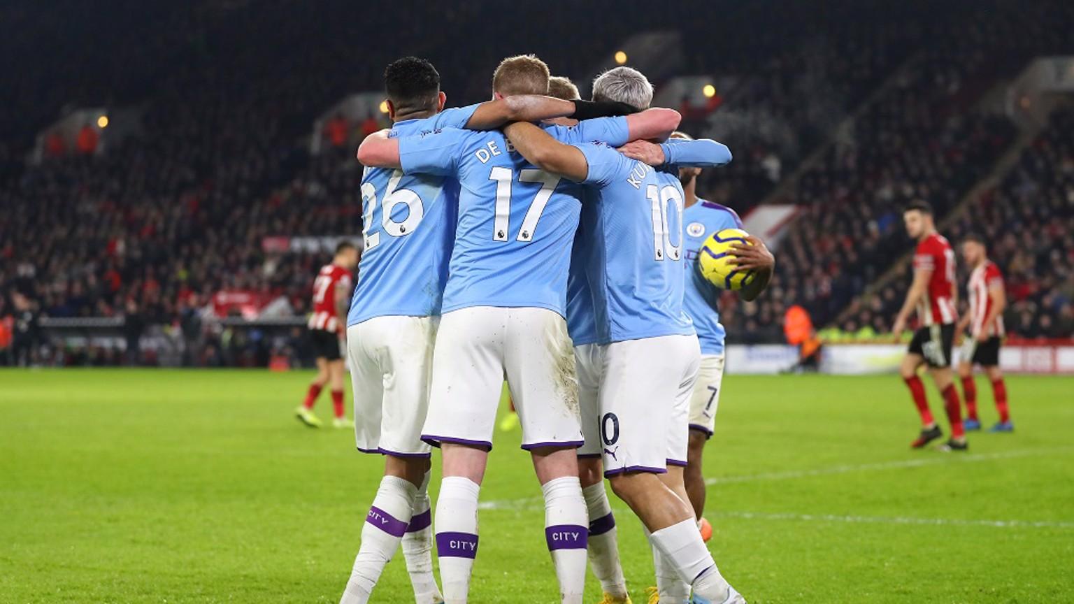MEMATIKAN: Sergio menciptakan gol kemenangan