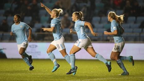 El Manchester City Women ha ganado todos los partidos disputados esta temporada.
