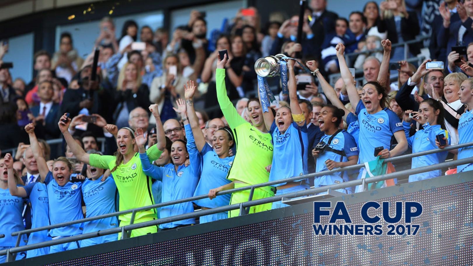 ¡Campeonas de la FAW Cup!