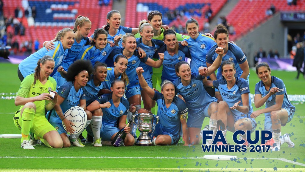 Man City Women are FA Cup champions