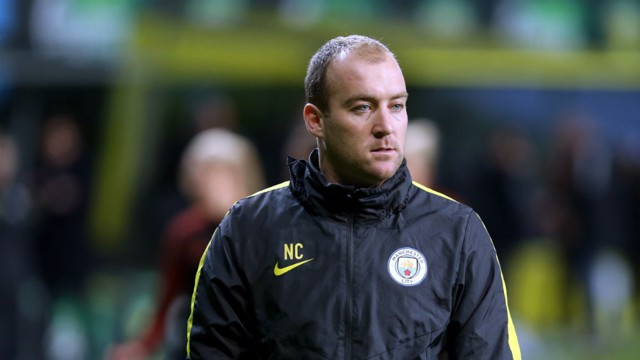 CUSHING: City's manager reacts to the victory over Hjorring in the Champions League quarter-final first leg