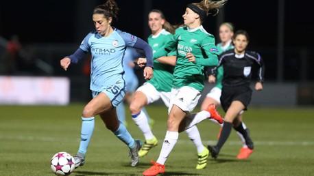 UWCL action: Carli Lloyd's first City goal