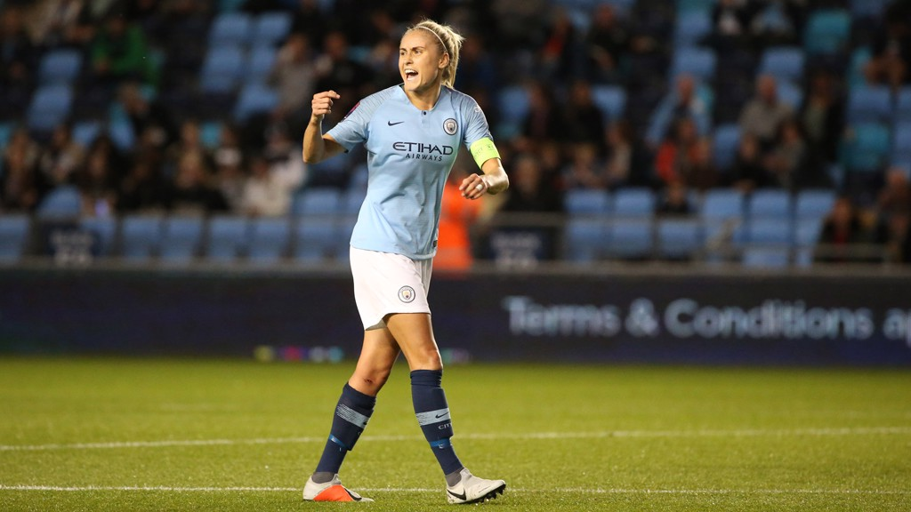 SKIPPER: Steph Houghton.