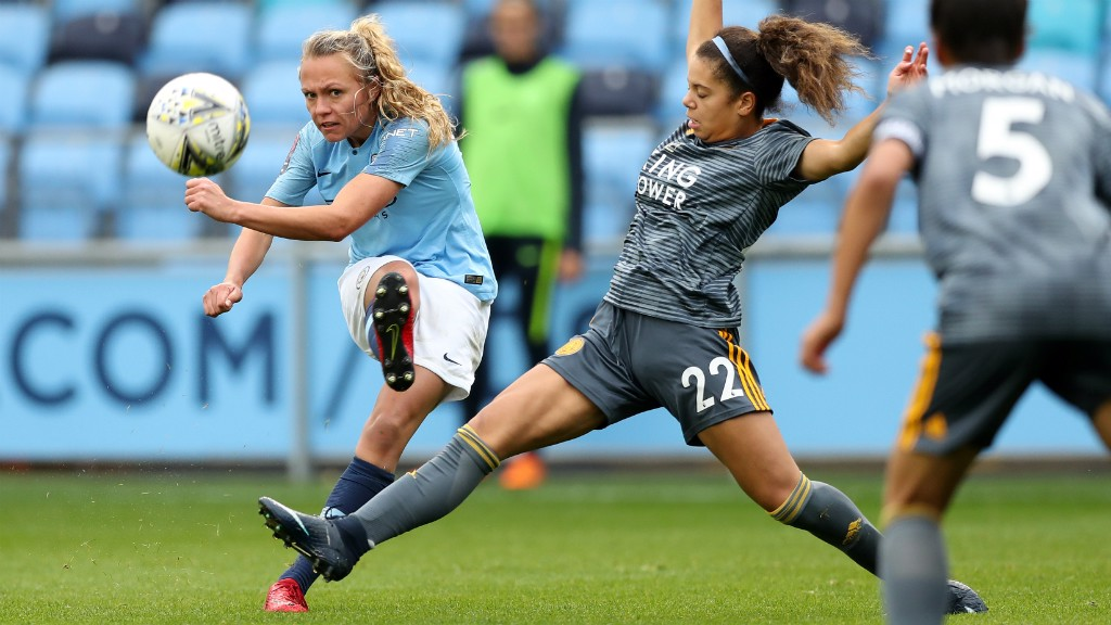 GREAT SCOT: Claire Emslie added more assists to her name