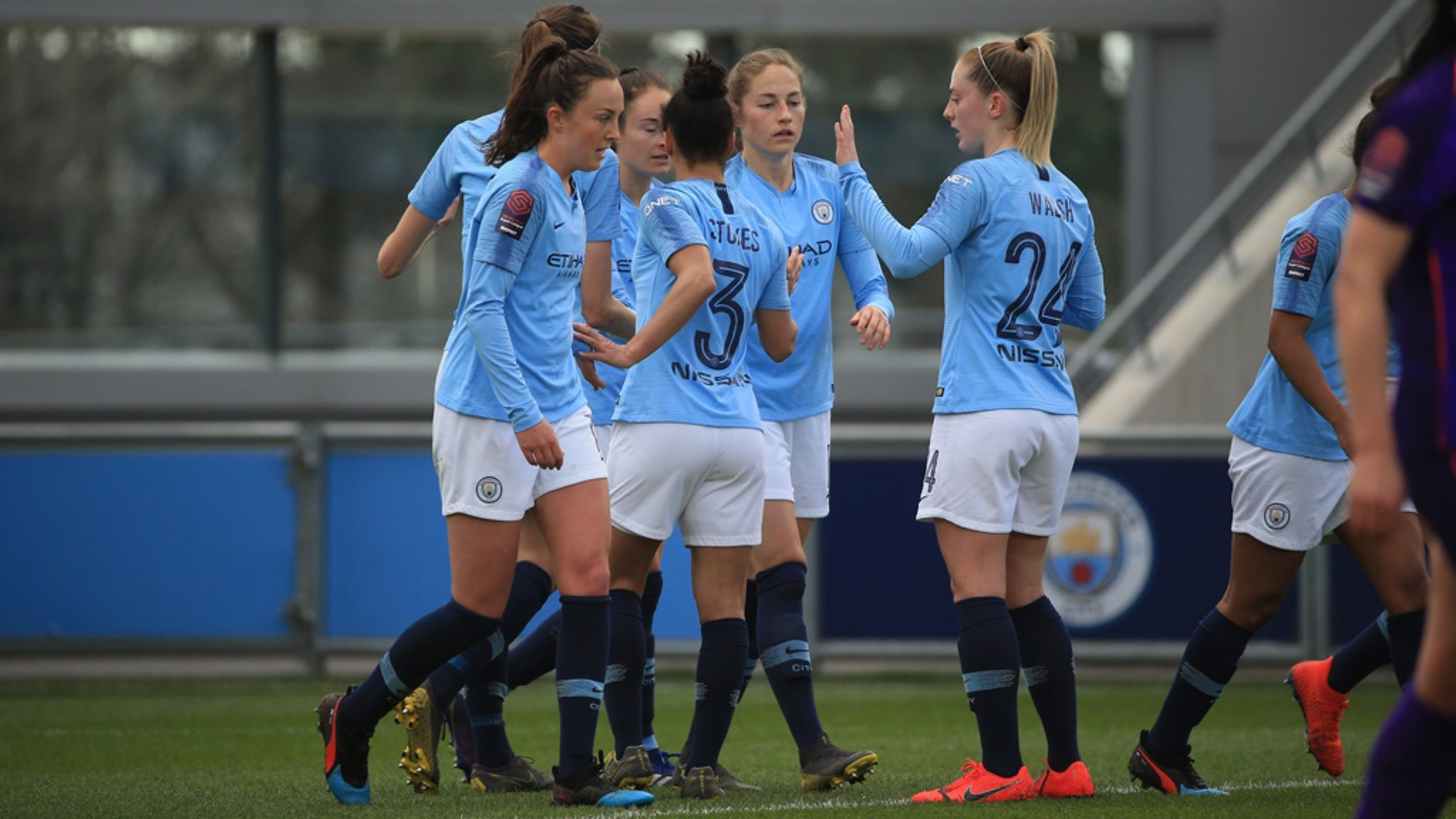 CITY-LIVEPOOL. El equipo accedió a las semifinales de FA Women's Cup.