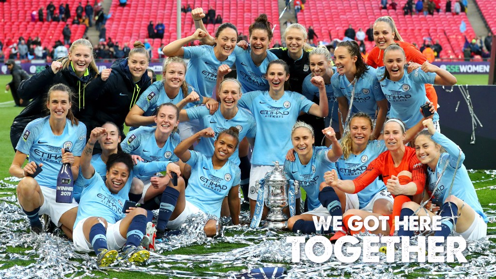 Highlights: City seal cup double